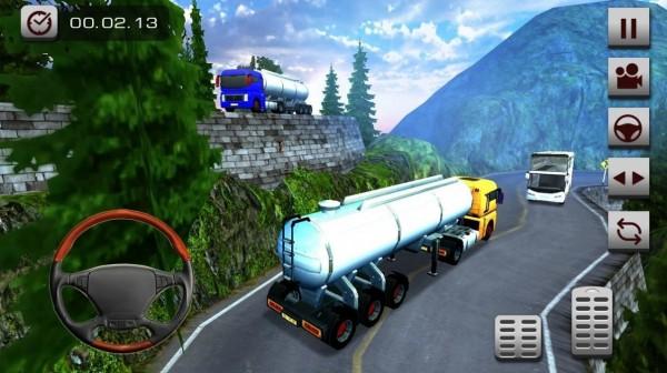 越野油轮卡车